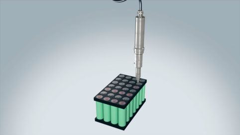 Battery module & Battery pack production in e-mobility with ViscoTec dosing technology
